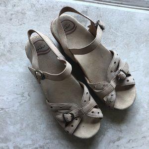 Dansko Beige Sandals